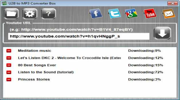 U2B to MP3 Converter Box
