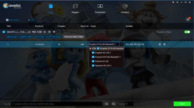 DVDFab DVD & Blu-ray Cinavia Removal