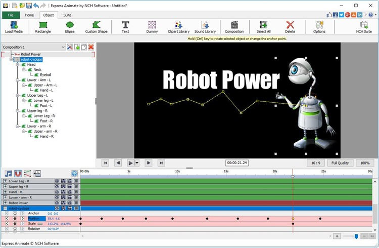 Express Animate Animation Free for Mac