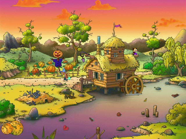 Gourdville World Screensaver