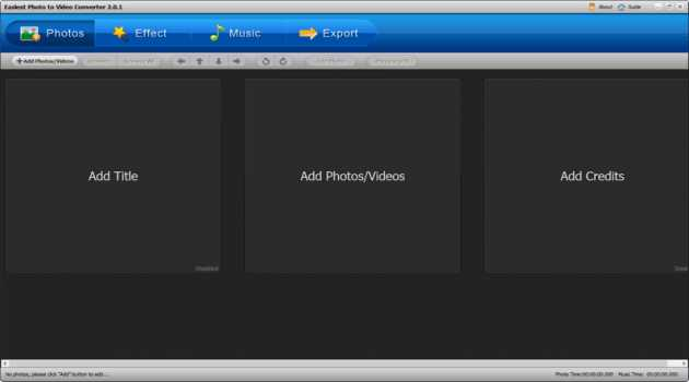 Easiest Photo to Video Converter Windows