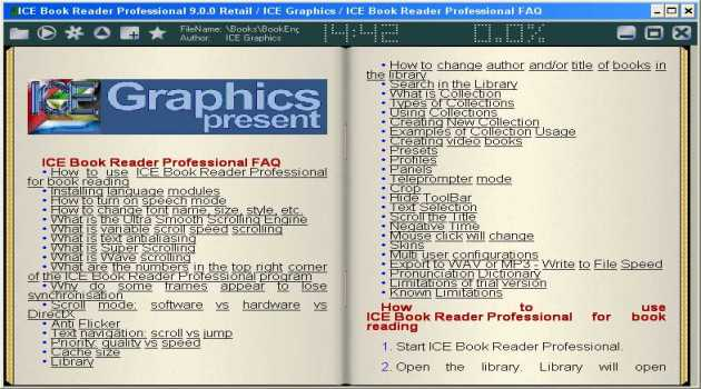 ICE Book Reader Professional