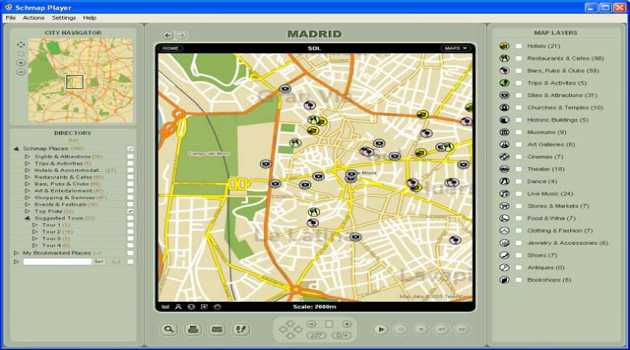 Schmap Europe for Mac