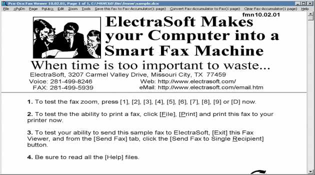 Pcx-Dcx Fax Viewer