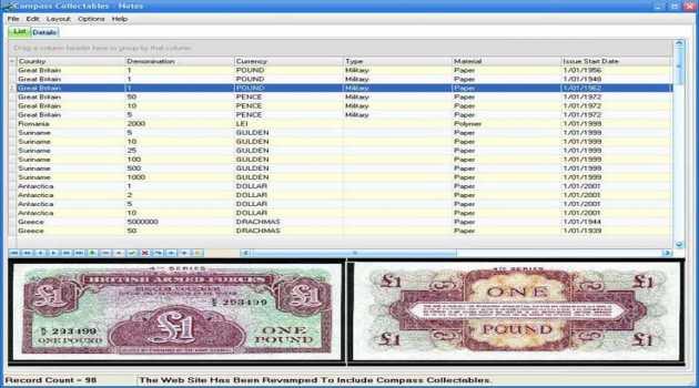 Compass Collectibles Bank Notes