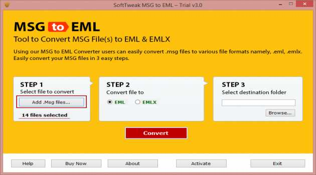 How to Save MSG to EML