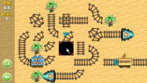 Puzzle Rail Rush Lite for Mac