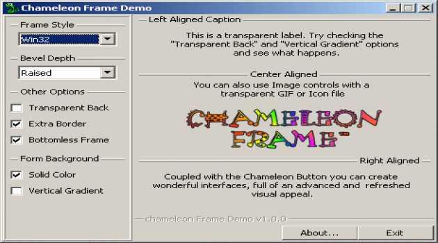 Chameleon Frame