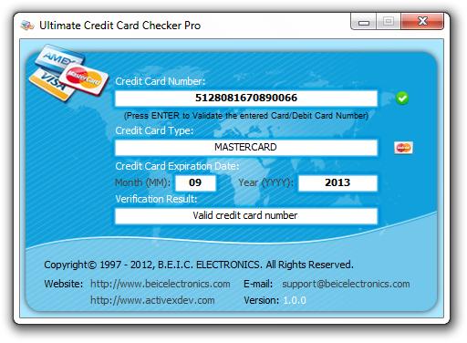 Ultimate Credit Card Checker Pro