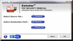 Advanced PDF Password Remover