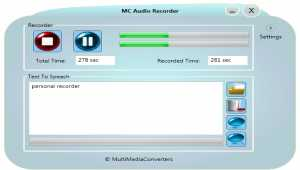 MC Audio Recorder