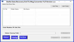 Convert EML to MSG File