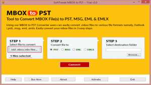 Migrate MBOX to PST