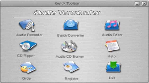 Audio Terminator