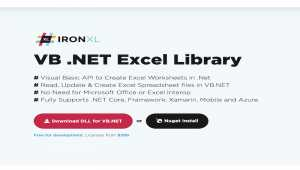 VB.Net Excel Library