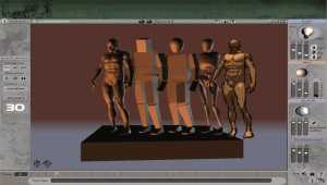 3D Virtual Figure Drawing Studio Male