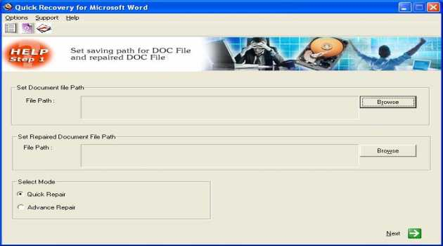 MS Word Data Recovery by Unistal
