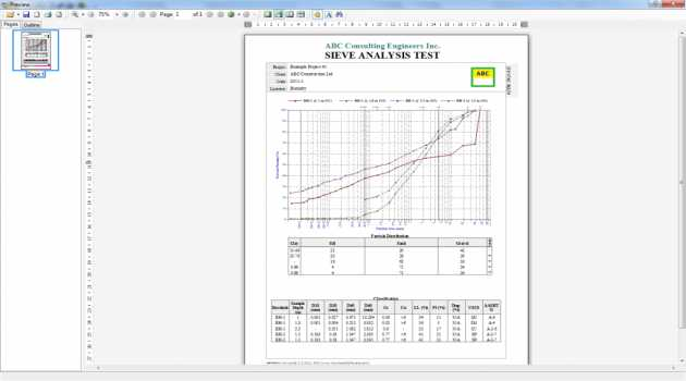 Boring Log & Soil Testing Software