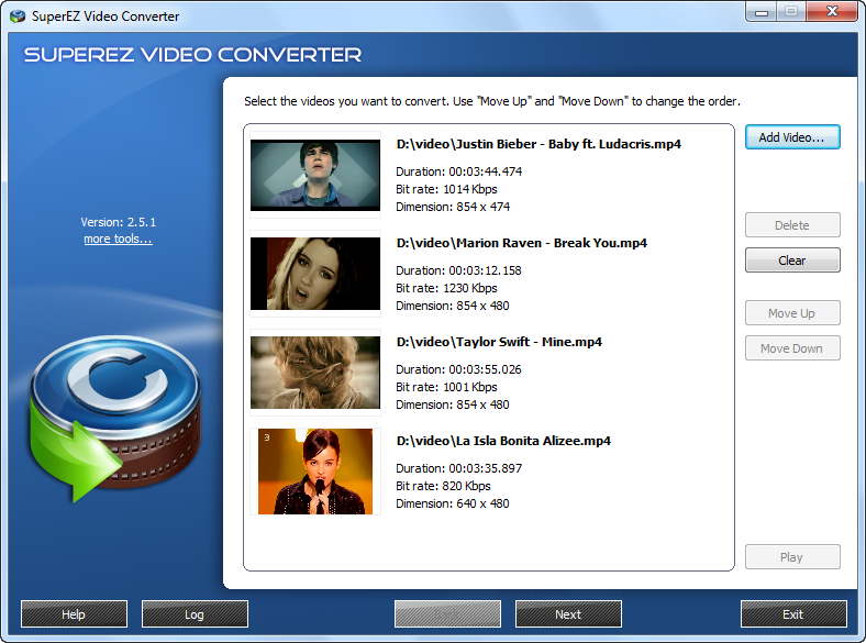 SuperEZ Video Converter