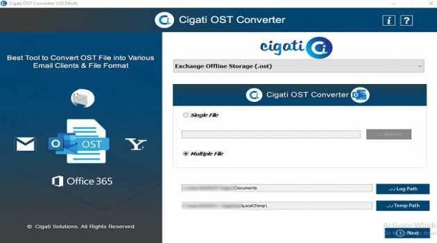 Cigati OST Converter