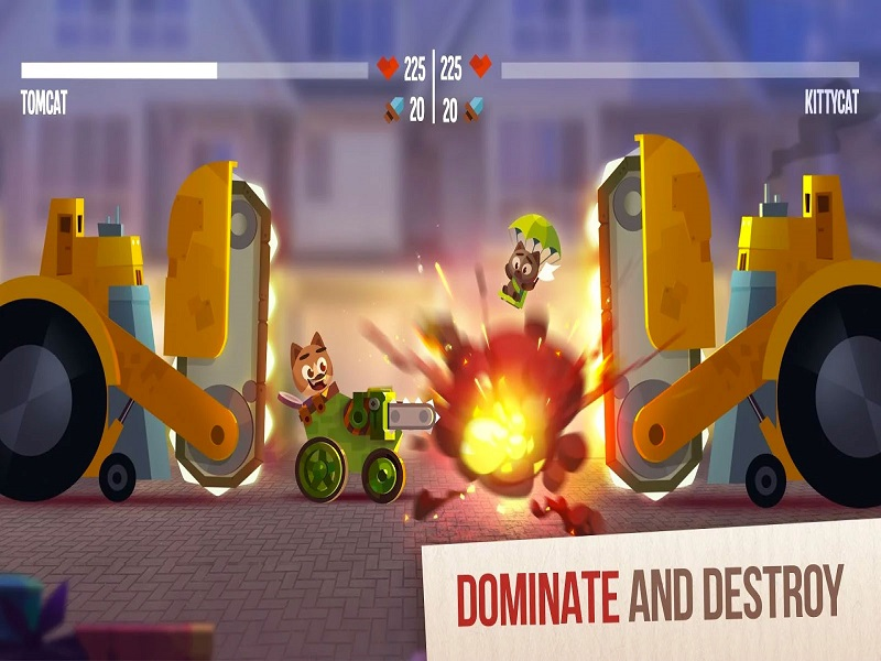 CATS: Crash Arena Turbo Starts For PC