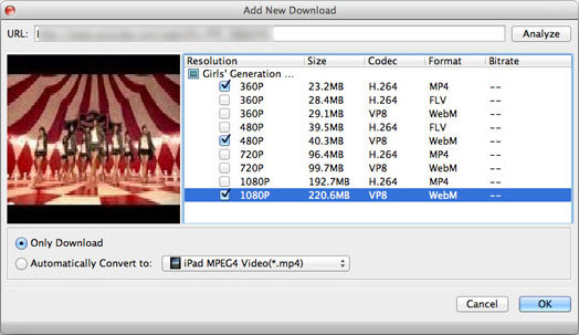 Aiseesoft Mac Video Downloader