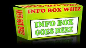 Info Box Whiz by Freshwater Aquarium