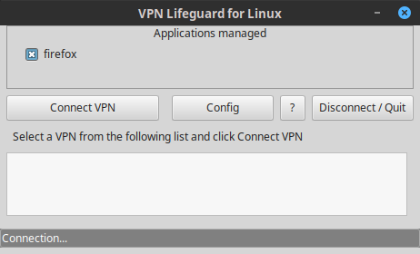 VPN Lifeguard for Linux