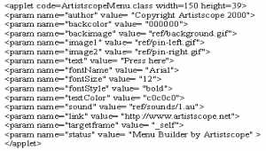 Menu Builder OS