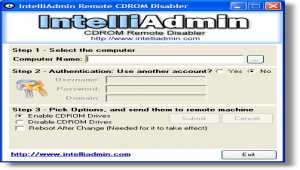 CD ROM Drive Remote Disabler