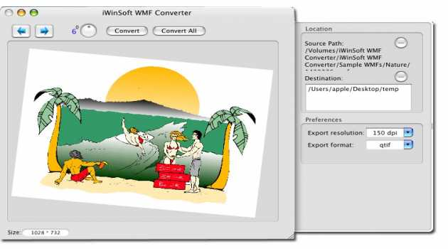 iWinSoft WMF Converter for Mac
