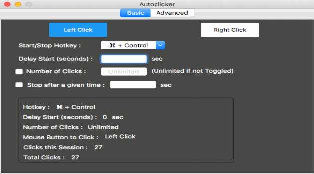 Auto Clicker Mac