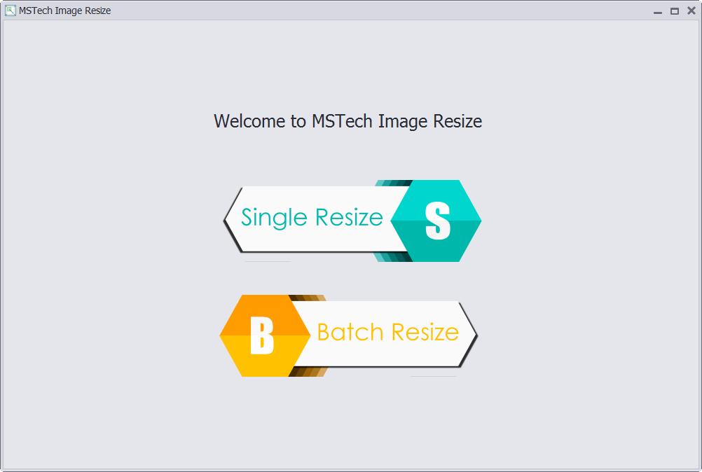 MSTech Image Resize Basic