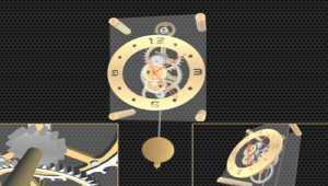 Pendulum Clock 3D Screensaver
