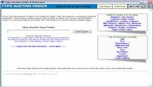 eBay Auction Typo Finder