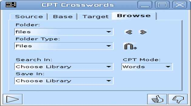 CPT Crosswords (for Linux)