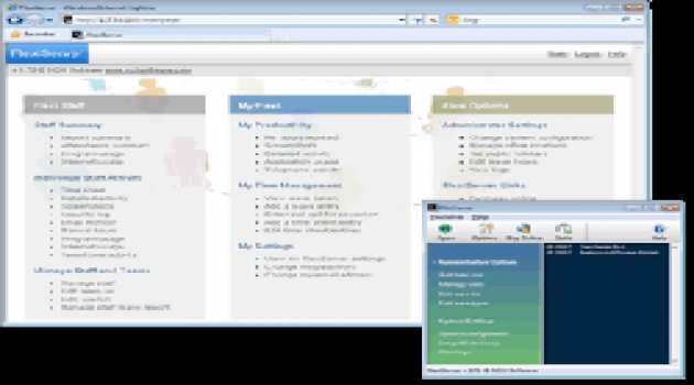 FlexiStation Employee Time and Productivity Software