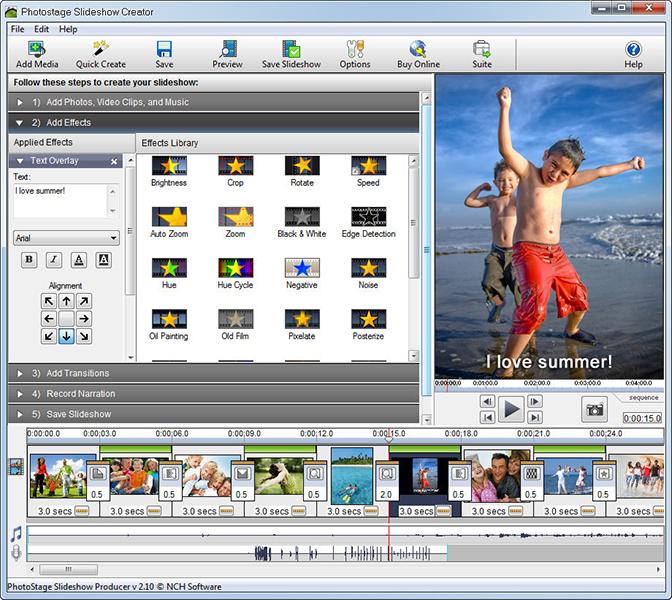 PhotoStage Photo Slideshow