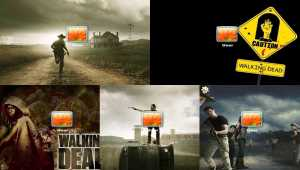 The Walking Dead Logon Screen