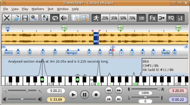 Transcribe! for Linux