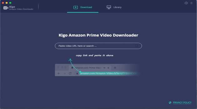 Kigo Amazon Prime Video Downloader for Mac