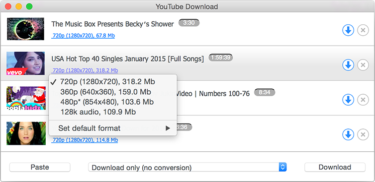 YouTube Downloader - Download Videos and Convert YouTube