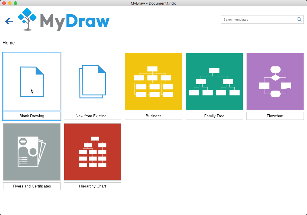 MyDraw for Mac