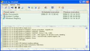 Acritum One-click BackUp for WinRAR