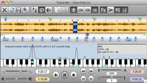 Transcribe! for Mac OS-X