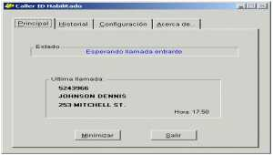 Caller ID para PC (Español)