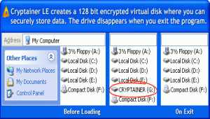 Cryptainer LE Encryption Software