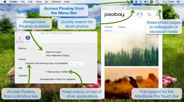 App for Pixabay