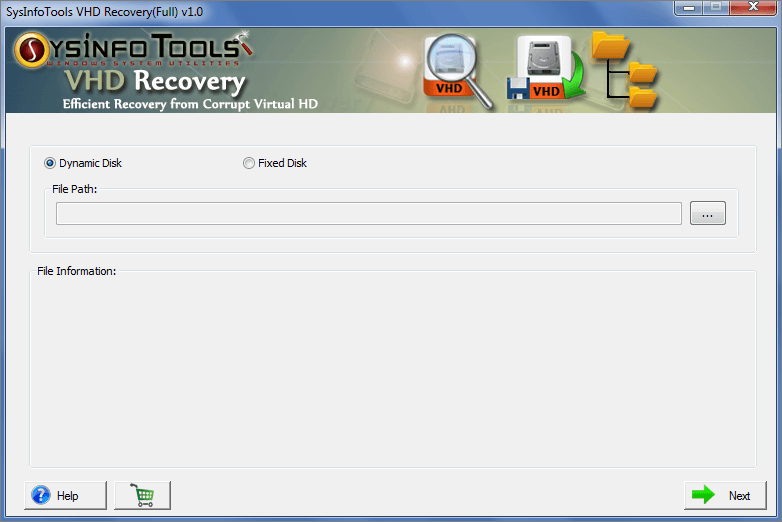 VHD File Recovery Tool