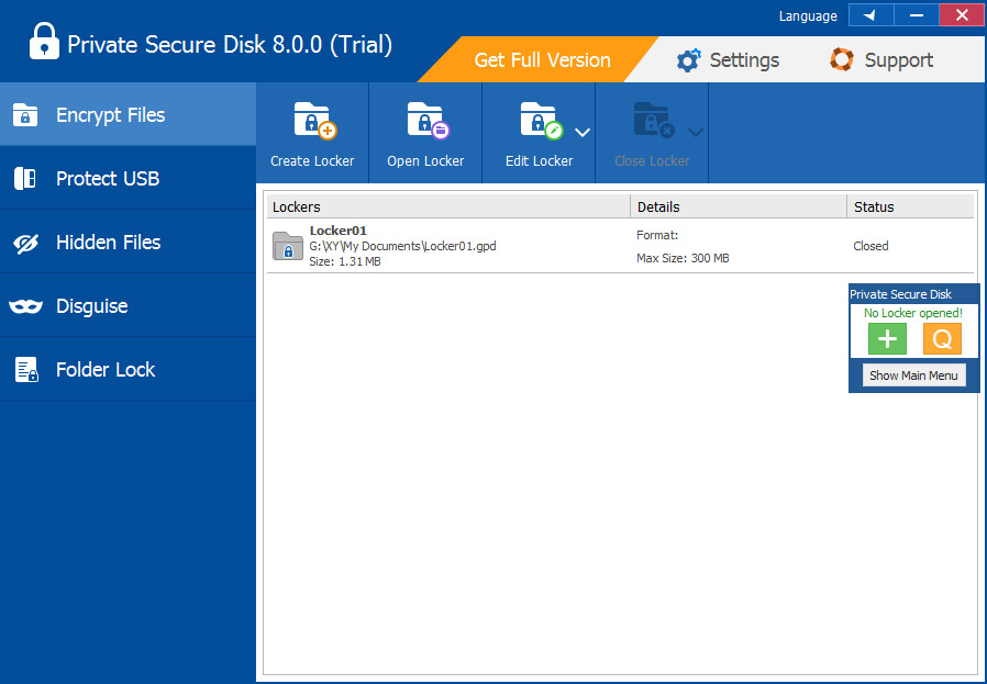 Private Secure Disk